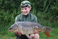 A PB 11b 15oz mirror for student Max Andrew