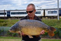 John Barnes with his latest 'Stow carp