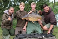 Dan and Charlie with a cracking common