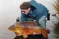 Carp angling legend Ritchie McDonald
