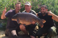 Liam Morgan landed the second 40 of the weekend