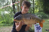 Tyler landed this 17lb 3oz mirror