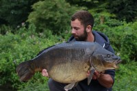 An old 35lb mirror