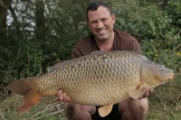 Tim Gray with the Road Lake's fish of the week