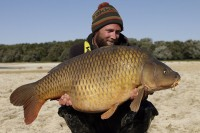 This 57lb common topped the run of fish