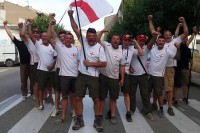 England Carp Team celebrate gold