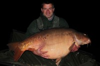 Will George with the impressive 82lb 'Matey'