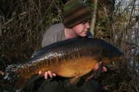 Ian Bailey with a special one