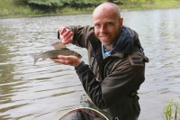 Grayling star in the River Wye episode