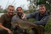 One of Ali's big projects has been new ITV series 'Monster Carp'