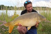 A switch to large, match-the-hatch hook baits worked