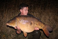 Ian Bailey's tenth UK forty, Gracie at 41lb 10oz