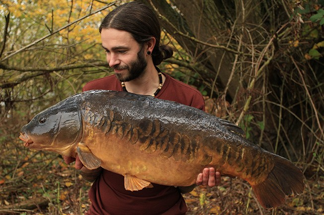 Ben Connolly with an amazing Northey mirror