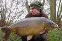 Carp are often at their biggest weights in early winter