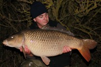 Ian Bailey with his 11th 35b-plus carp from 2015