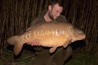 A nice January 36lb mirror but