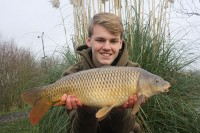 The carp should also love the golden grains