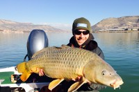 Stuart Everett with a Rio Ebro 30