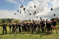 Graduating from Carp Academy 2015