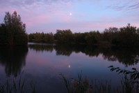 Dusk on my syndicate water