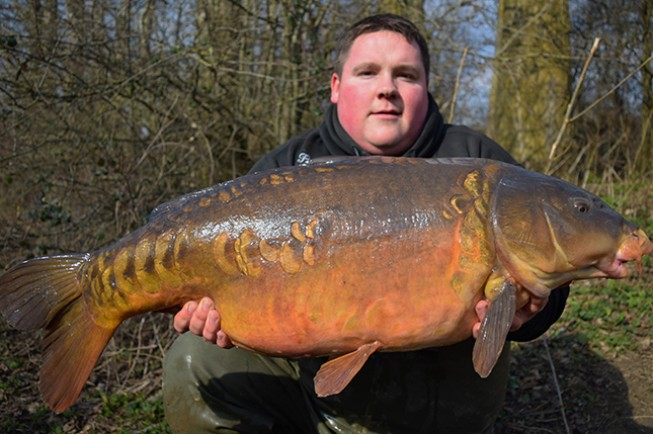 Original St Johns 31lb 12oz mirror