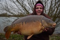 39lb mirror to get off the mark!
