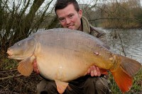 Fish to 35lb 10oz for Josh Bennett
