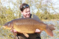 36lb 8oz common known as the Wart