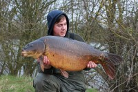 Zig caught 33lb 4oz mirror as he was packing up