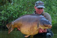 The biggest carp Craig had seen surfaced!