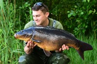 One of 12 fish that Jim banked during a true red-letter session