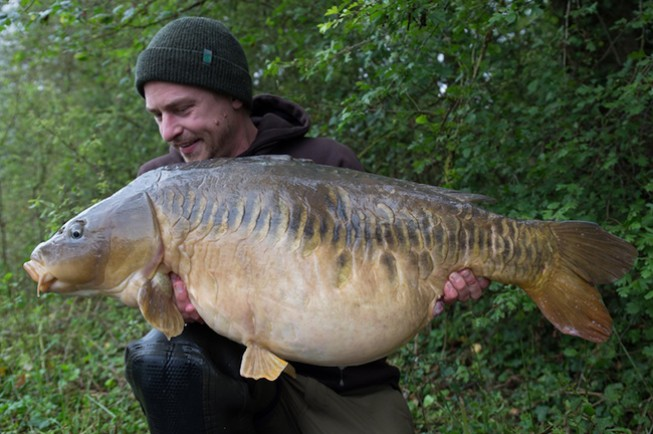 Christopher Paschmanns with a 44lb zip linear