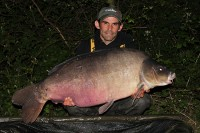 Here he is, king of Welly and a new PB for Martin