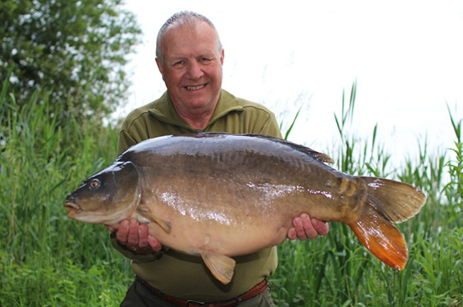 Terry Sentance had a great 24 hours on the bank with Steve Cliff
