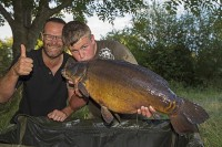 Biggest mirror in the lake for Mitchell Jones