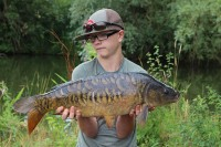 Lovely scaly mirror for Lewis