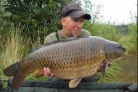 A lovely 21lb common for Ben Bowser