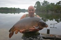 One of five fish over 50lb in a session