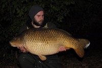 The biggest common in the Manor at 43lb 4oz