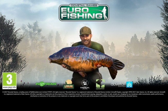 Euro fishing now on ps4 news korda for Playstation 4 fishing games
