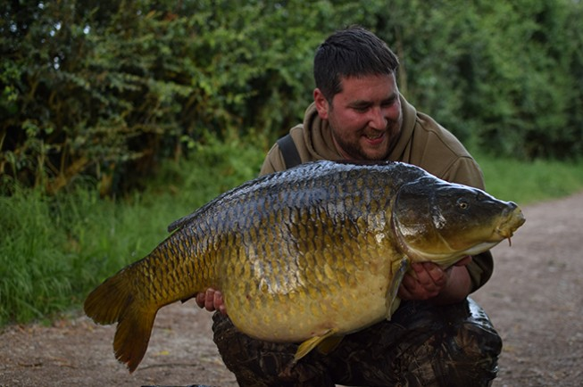 Two <b>40lb</b>-plus commons from two different lakes! | News | Korda