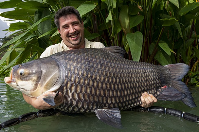 Gary Newman lands his 15th <b>50lb</b>-plus freshwater species | News | Korda