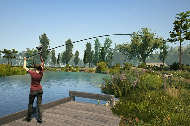 Korda backed dovetail games euro fishing launches this for Real life fishing games