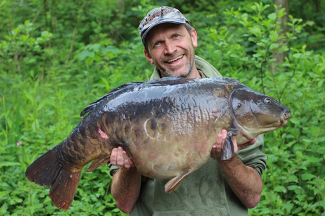 Fat fish tackle owner banks a chunk at chilham news korda for What are fatty fish