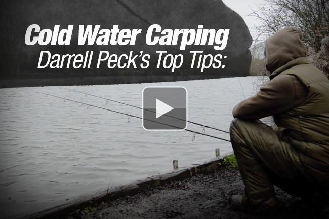Darrell Peck's Top Tips For Winter Carping