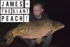 Jon Mann lands his target fish on an overnight session