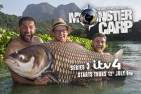 Fantastic new series of Monster Carp unveiled!