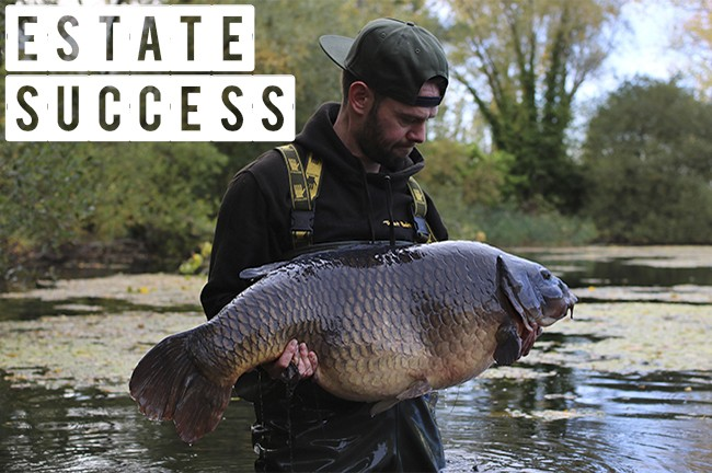 James Salmons enjoys an amazing estate lake session!