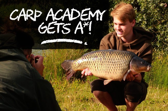 Carp Academy 2015 gets top marks from Dan Cattrall!