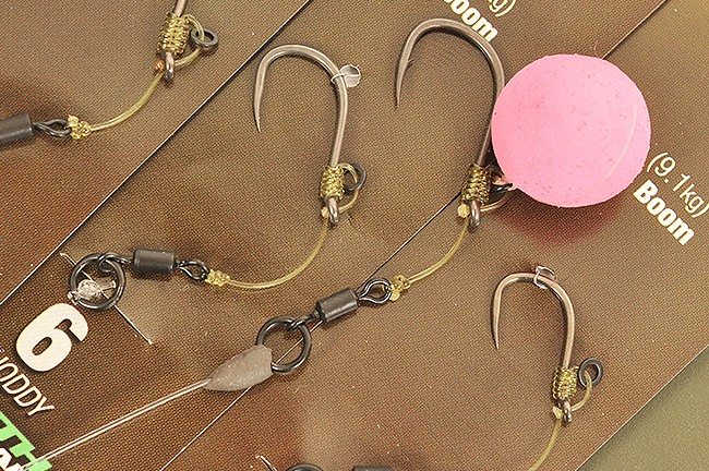 Ready Tied Hinge Rigs Line And Hook Links Fishing Tackle Korda